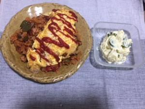 料理(オムライス)