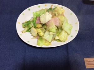 料理(白菜)