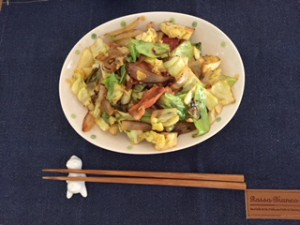 料理(野菜炒め)