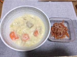 料理(クリームシチュー)
