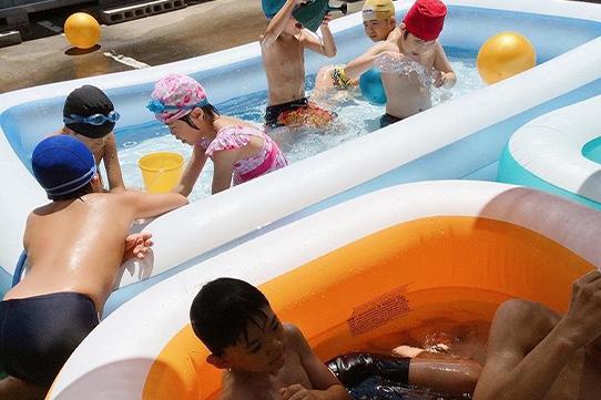 児童デイサービス 芳泉 プール遊び